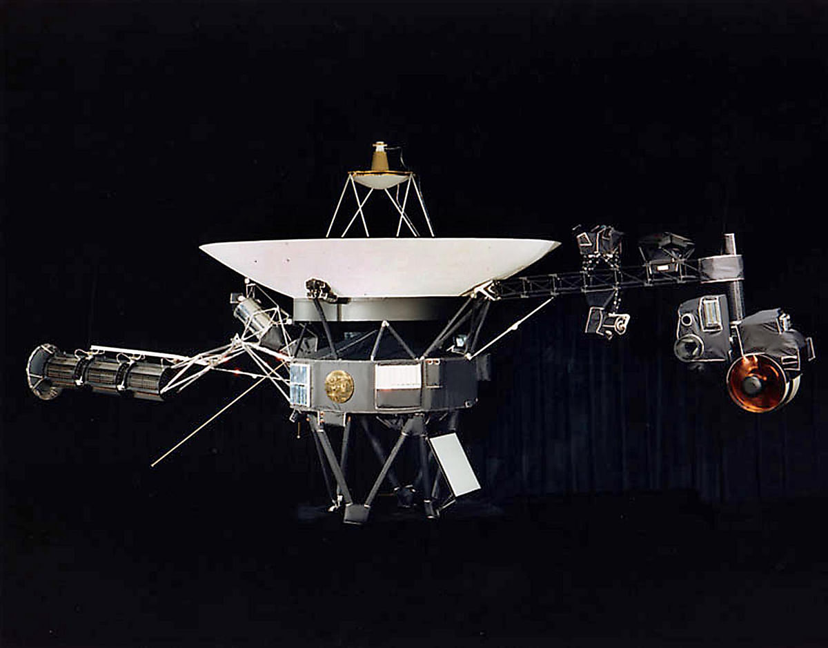 NASA's Voyager 2 grabs the 2nd spot
