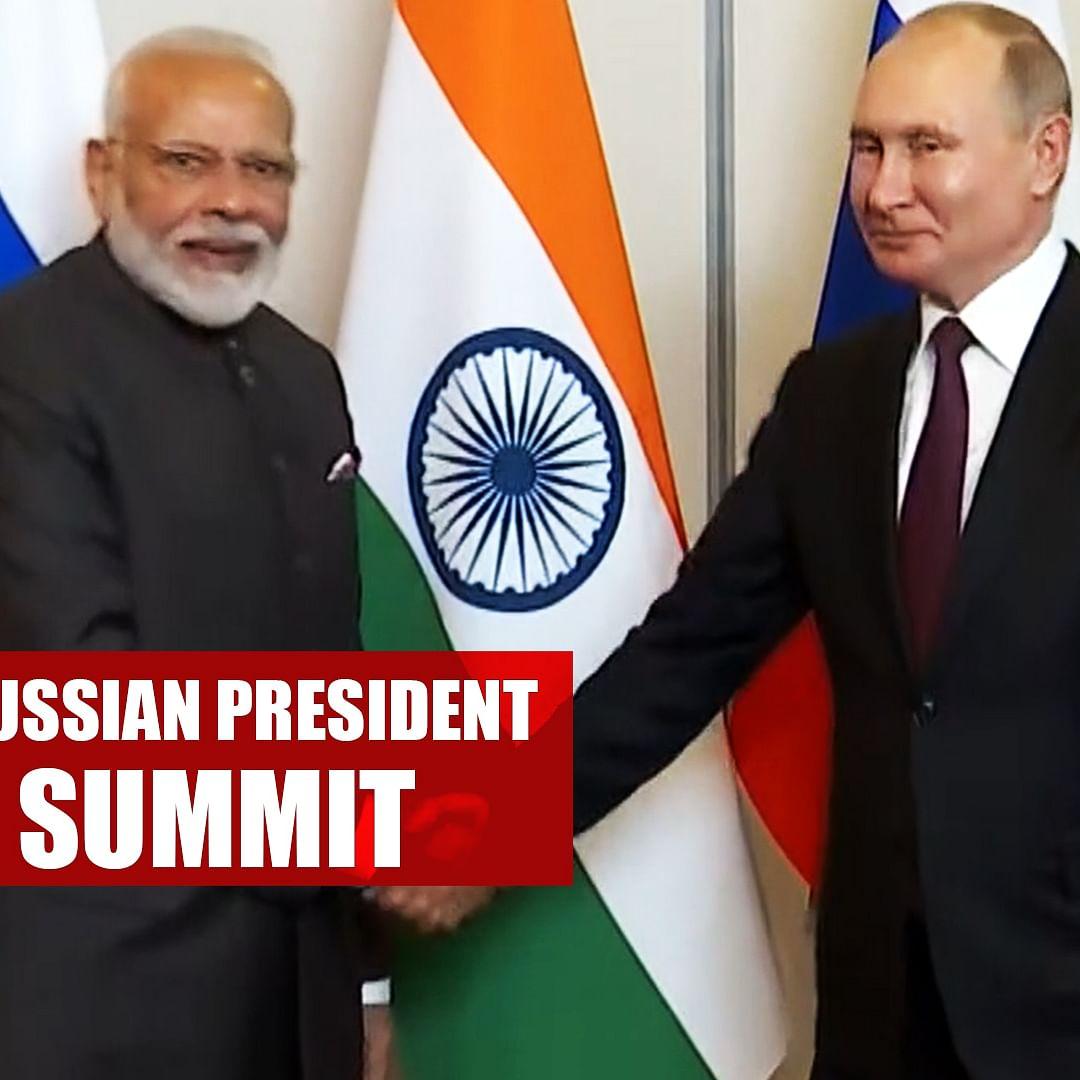 PM Modi Meets Russian President Vladimir Putin On Sidelines Of BRICS Summit