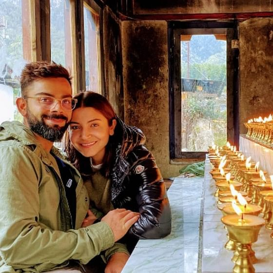 Virat Kohli's larger-than-life smile in Anushka Sharma's post will make you forget all your worries