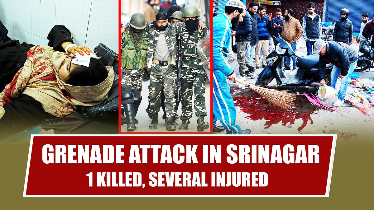 Grenade Attack In Srinagar: 1 Killed, Several Injured