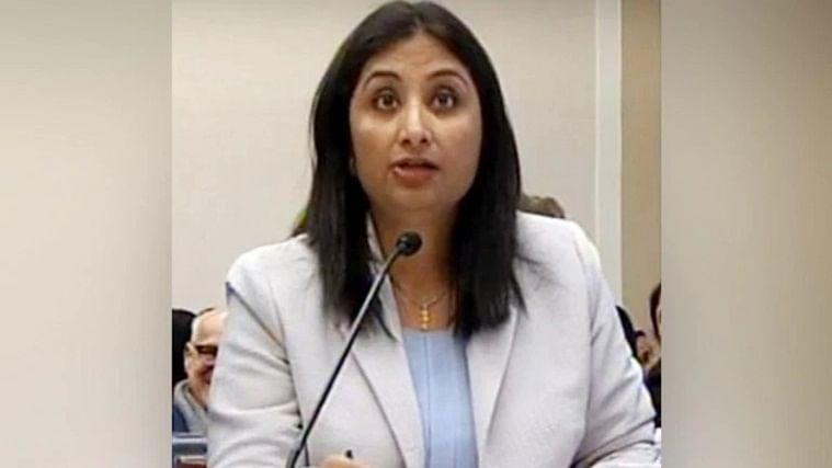 Sunanda Vashisht presents Kashmiri Pandit side at US Congressional hearing