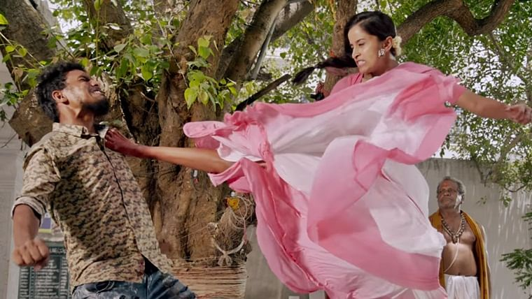 Watch: RGV's 'Enter the Girl Dragon' teaser featuring a love triangle with Bruce Lee is beyond bizarre