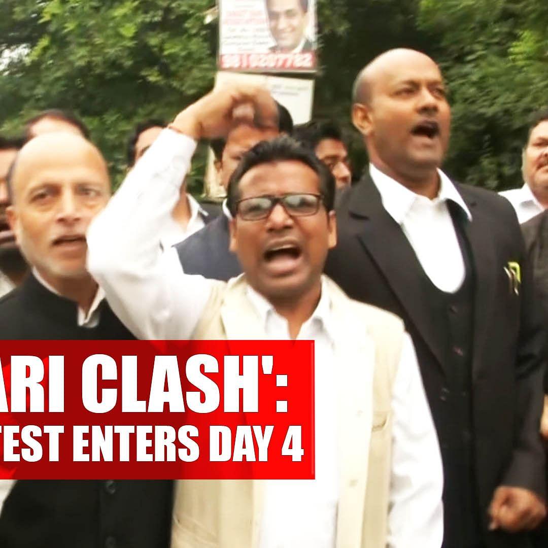 'Tis Hazari clash': Lawyers Protest Enters Day 4