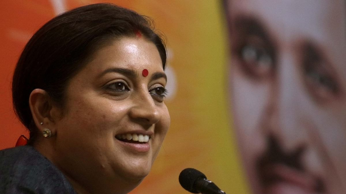 'Water off my back': Smriti Irani gives befitting reply to troll asking her to comment on Hyderabad rape-murder