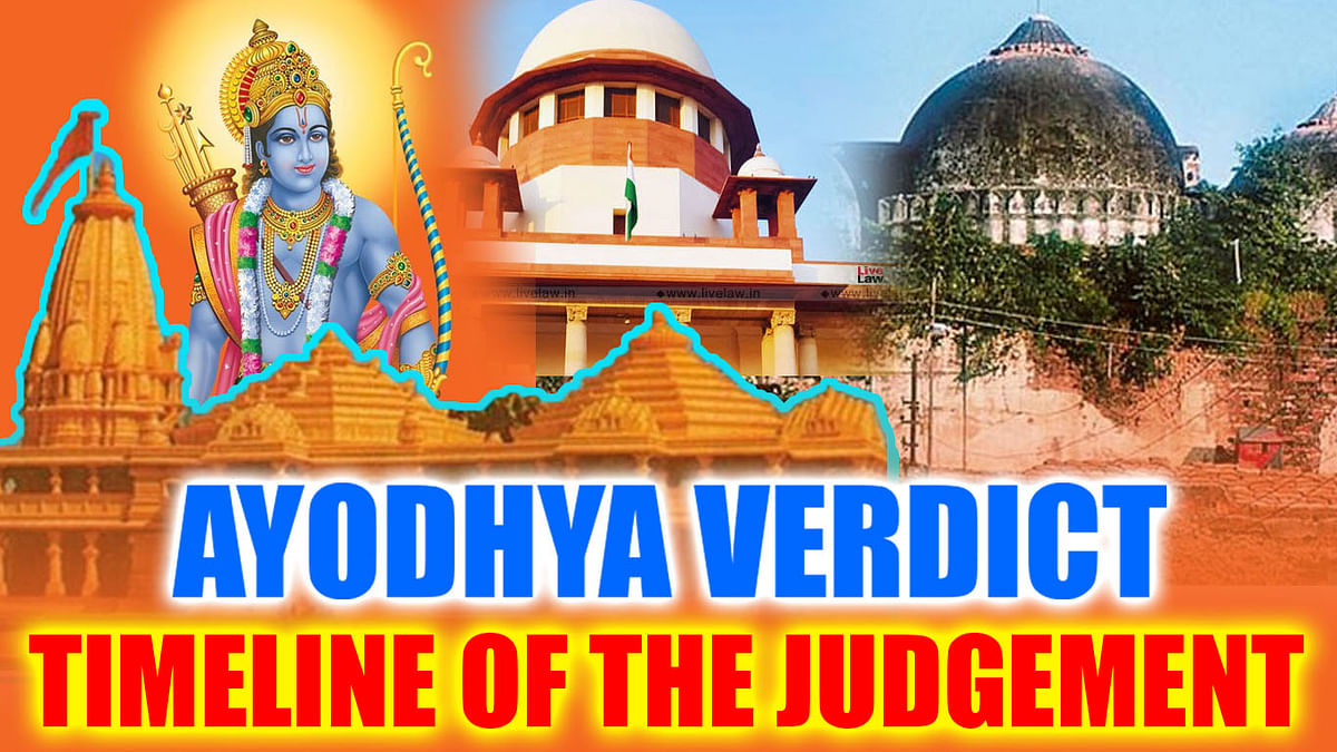 Ayodhya Verdict: A Timeline Of The Lengthiest Case In Supreme Court's History
