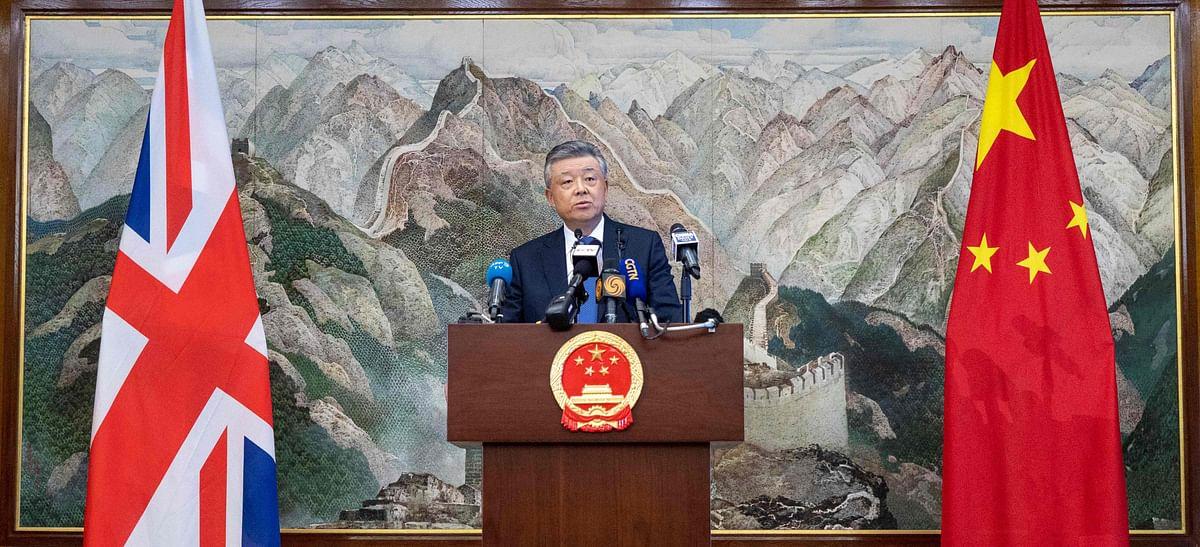 China warns against external interference in Hong Kong