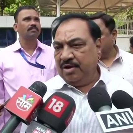NCP's turn: Eknath Khadse welcome to join us