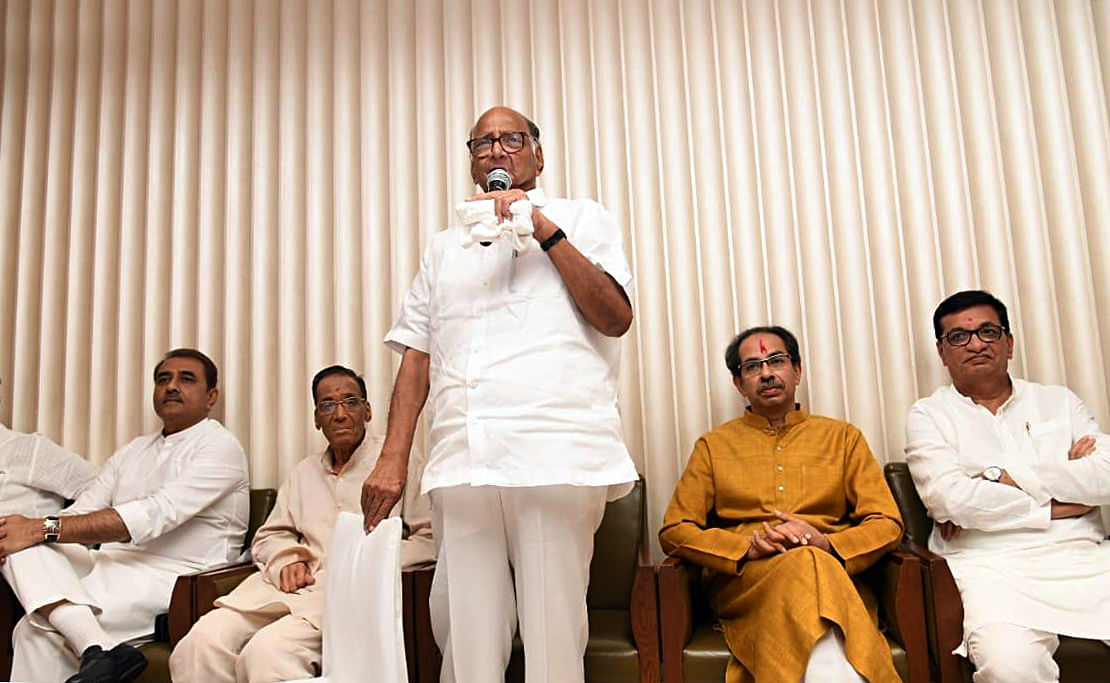 54 - the number that stopped Sharad Pawar from becoming PM in 1991 but made him kingmaker in 2019