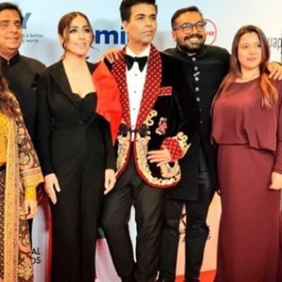 'Lust Stories' at International Emmys 2019: Karan Johar, Zoya Akhtar walk the red carpet in style