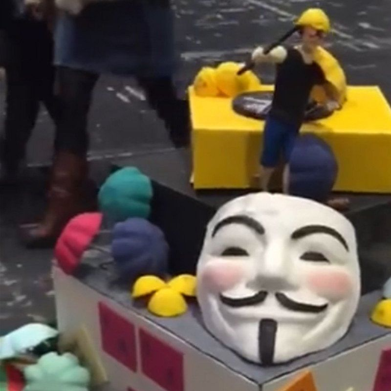 UK competition disqualifies Hong Kong protest themed cake