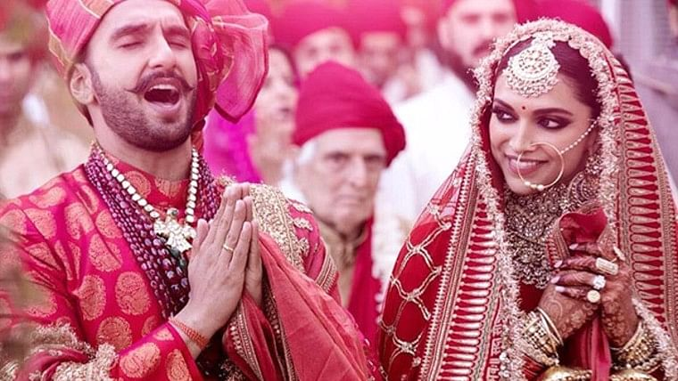 Deepika shares a cute pic of Ranveer 'preparing for his first wedding anniversary' at a spa