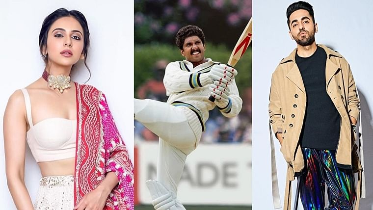 Is there anything you can't pull off? B-town hails Ranveer Singh for nailing Kapil Dev's 'Natraj Shot'