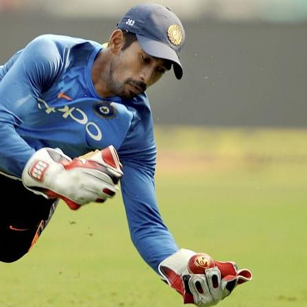 Wriddhiman Saha looks to surpass MS Dhoni's record in Tests series against Bangladesh