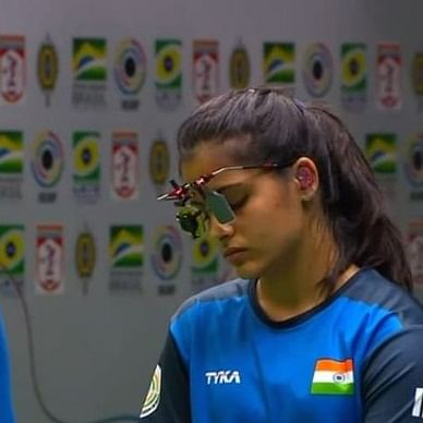 Manu Bhaker blanks on World Cup finals, falls one point short