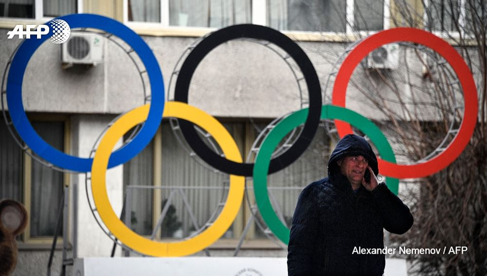 Russia could be banned from taking part in next year's Olympics.