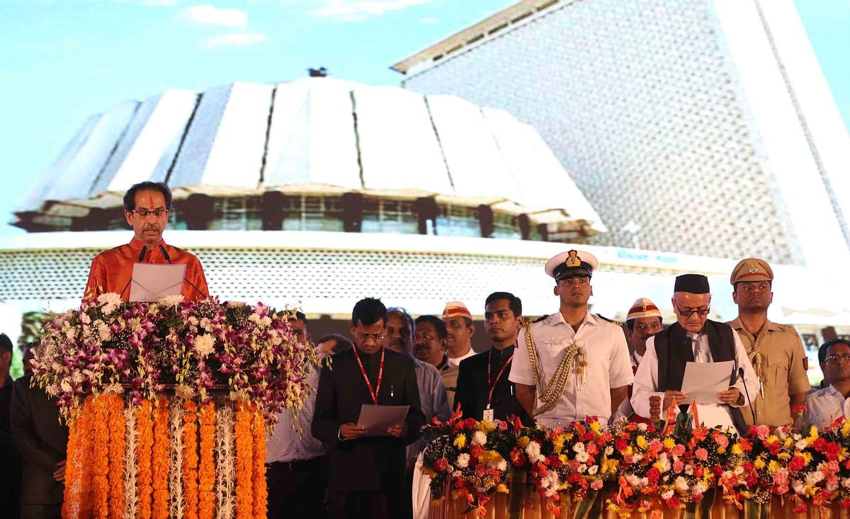 Balasaheb Thackeray's dream comes true, Uddhav takes oath as Maha CM