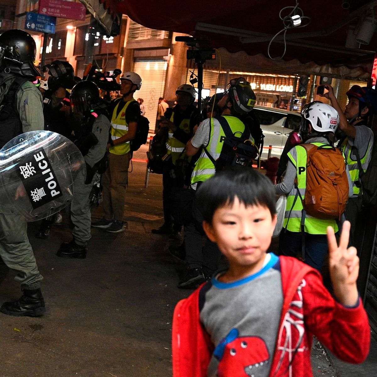 12-year-old boy is youngest protester to be convicted in Hong Kong