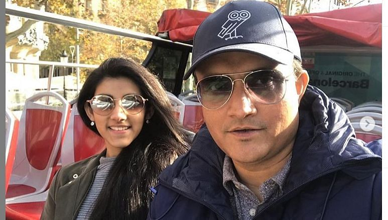 Sana Ganguly brutally trolls dad Sourav on Instagram