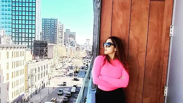 Pataudi princess Sara Ali Khan chilling with gal pals in New York