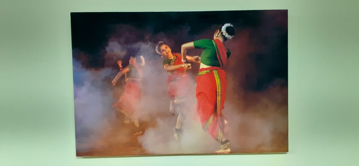 Bhopal: Artist's heart mingles with poet's mind in lenman's works