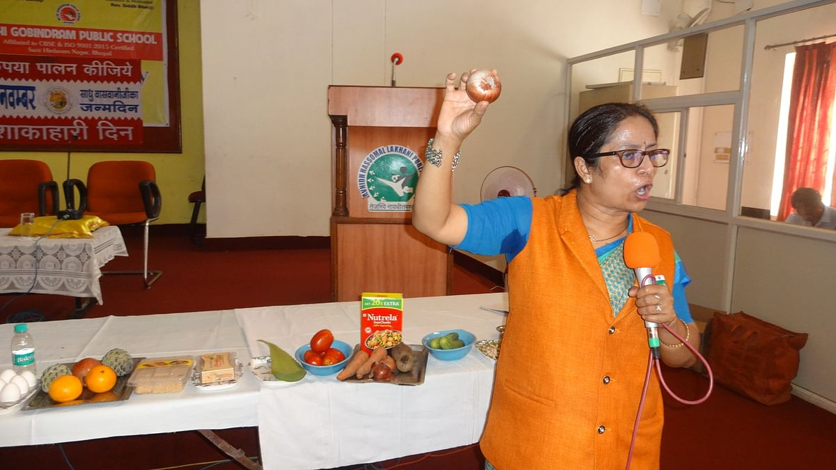 Bhopal: MGPS observes Meatless Day