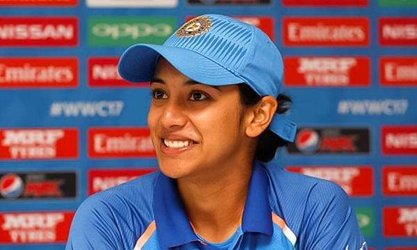 Smriti Mandhana becomes fastest Indian women to score 2000 ODI runs
