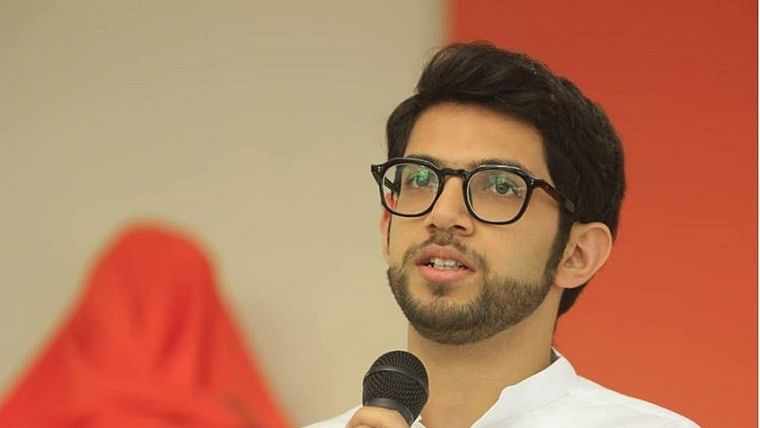 Aditya Thackeray meets Shiv Sena MLAs at Mumbai hotel as uncertainty continues over govt formation