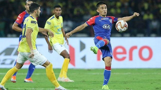 Sunil Chhetri nets match-winner for Bengaluru FC