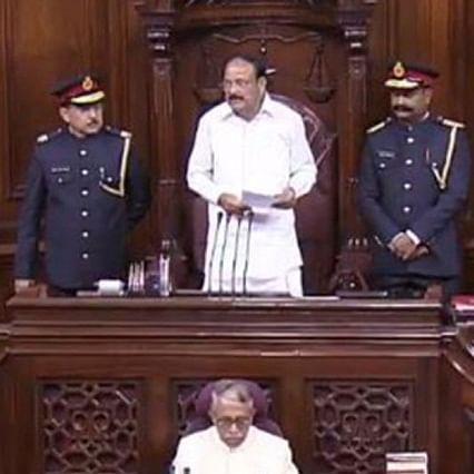 Amid row, Naidu asks Rajya Sabha secretariat to revisit new dress code of marshals
