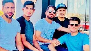 Pakistan cricketers in Australia