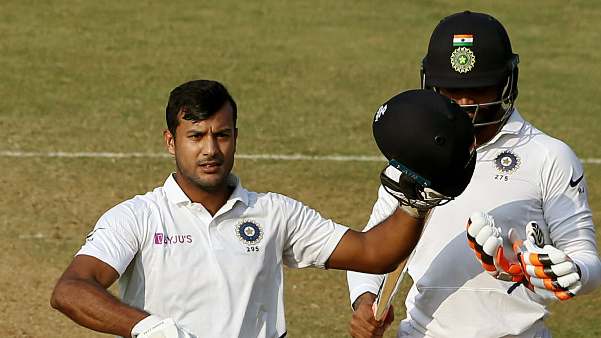Ind vs Aus 1st Test: Mayank Agarwal becomes third-fastest Indian to score 1000 runs