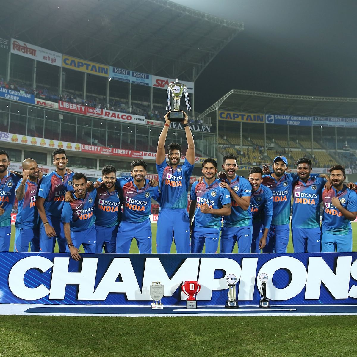 India slays Bangladesh to win series 2-1