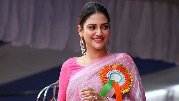 'With all your love, I am feeling absolutely fine': Nusrat Jahan thanks her well-wishers in video message