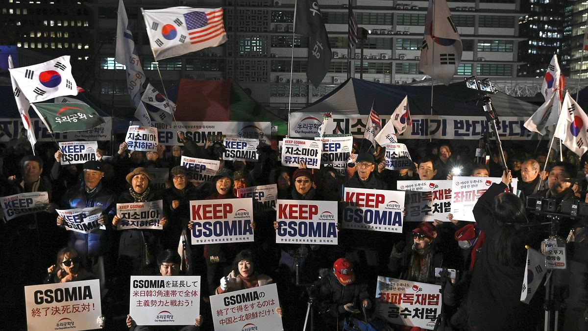 South Korea to continue Intel Pact with Japan