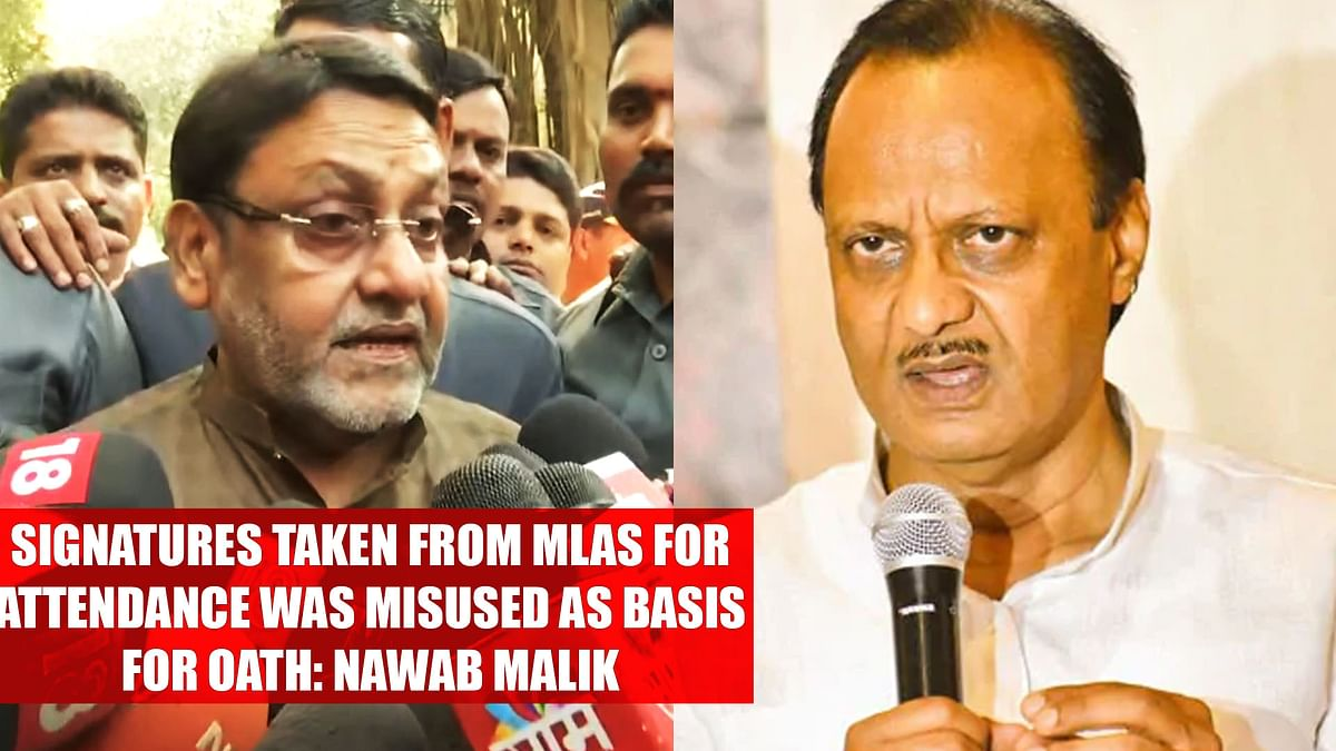 Signatures taken from MLAs for attendance was misused as basis for oath: Nawab Malik