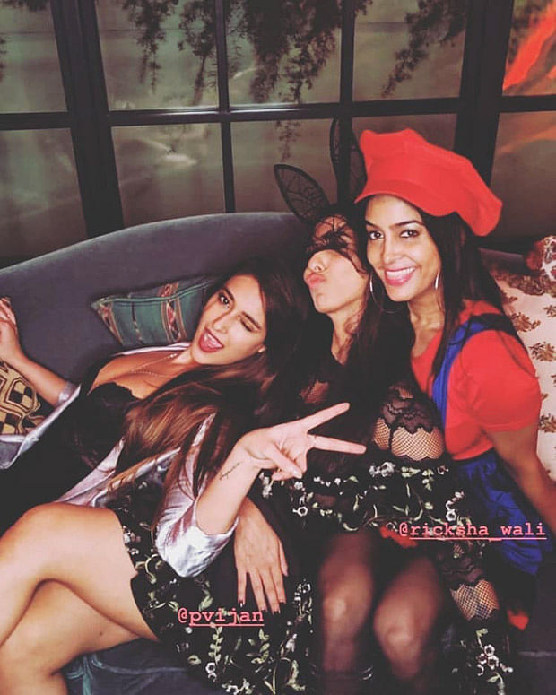 Inside Photos of Ileana D'Cruz's Halloween mode birthday party