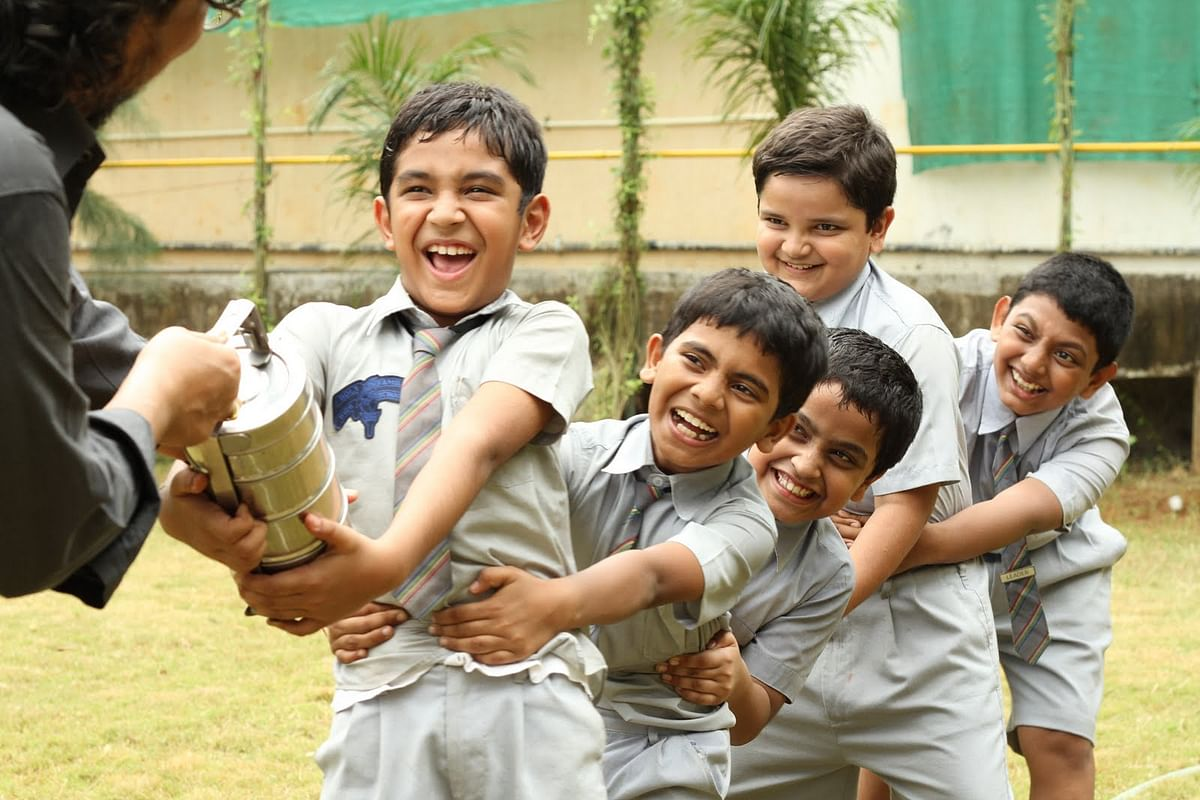 'We remember our kids' childhood only on Children's Day': Amole Gupte