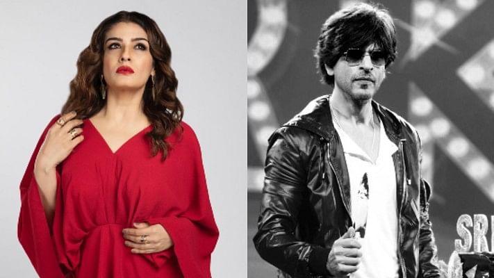 Shah Rukh Khan crowns Raveena Tandon as the 'best-scented heroine'
