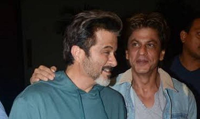 I am and will always be your fan: Shah Rukh Khan to Anil Kapoor