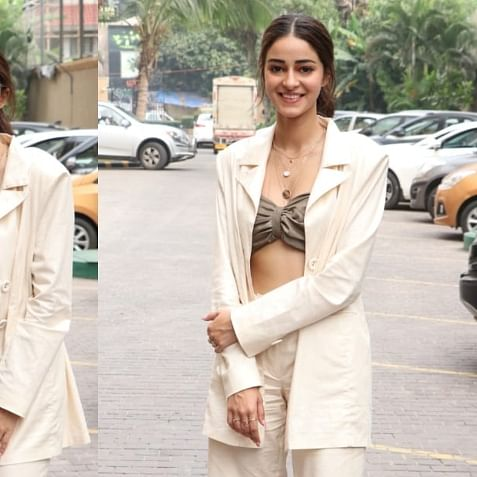 Would you wear Ananya Panday's quirky pantsuit in public?