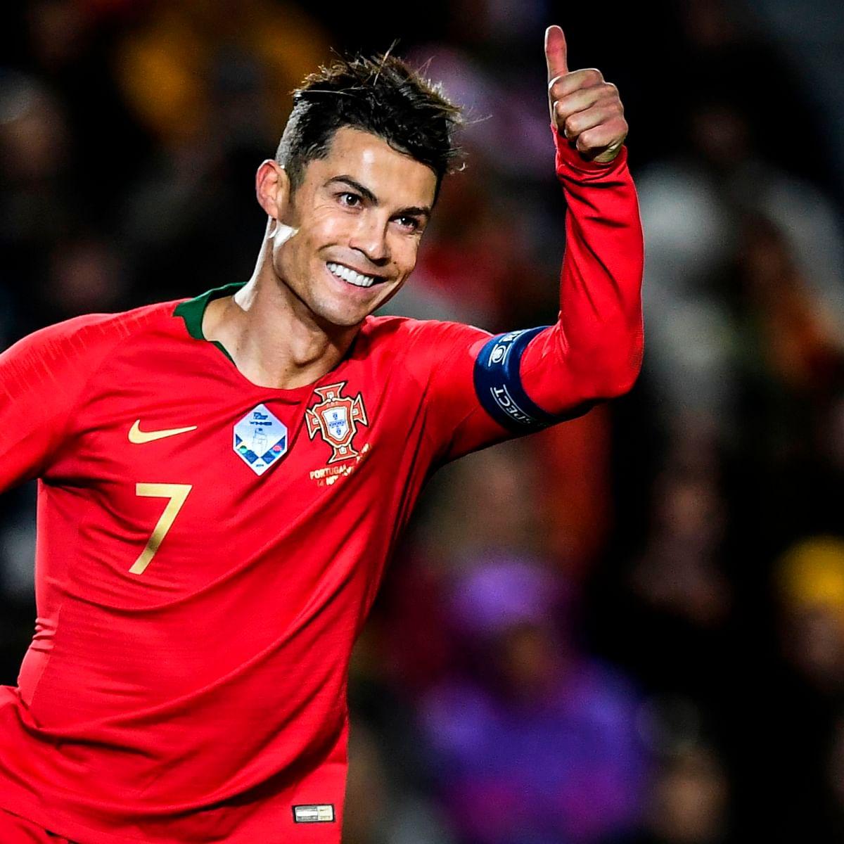 Watch: Cristiano Ronaldo scripts history, becomes first European to surpass 100 international goals