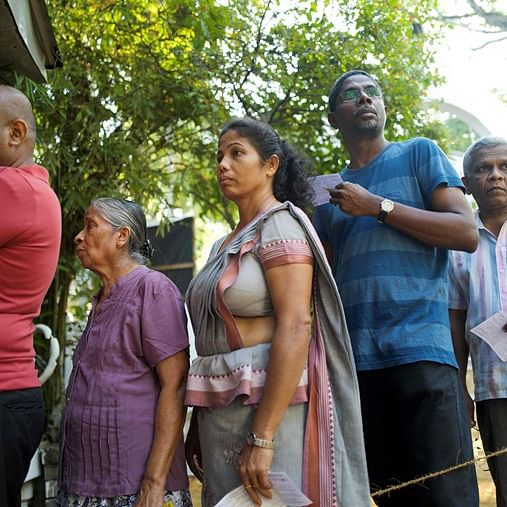 Voting begins for Sri Lanka presidential election