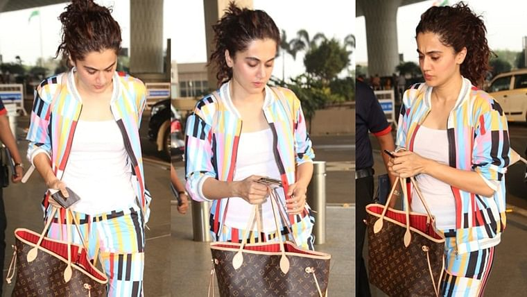 Can you guess what's inside Taapsee Pannu's Rs 99,000 handbag?