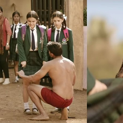 Commando 3: Paedophilic goon lifting schoolgirl's skirt in Vidyut Jammwal's movie draws flak