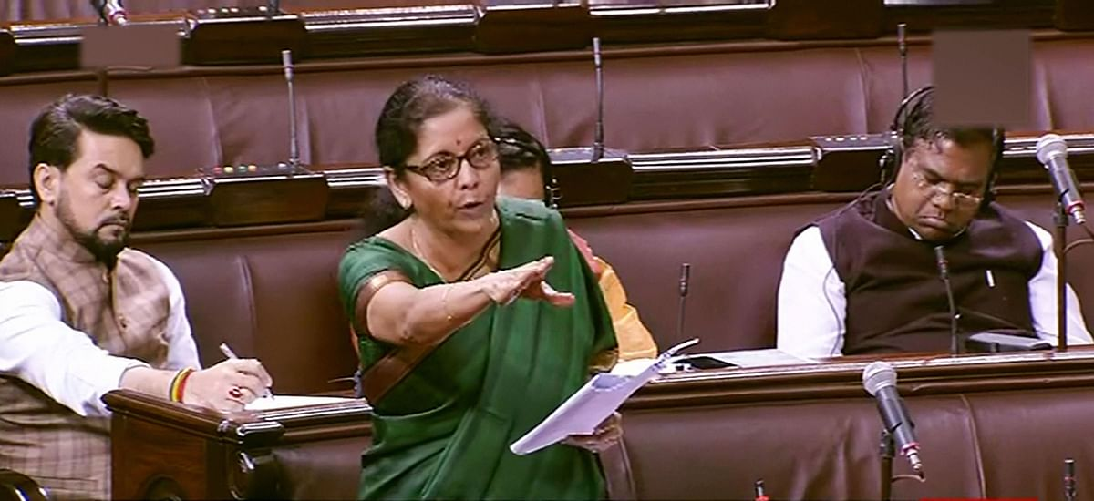 Opposition's walk-out habit hasn't changed since 2014, not good for democracy: Nirmala Sitharaman