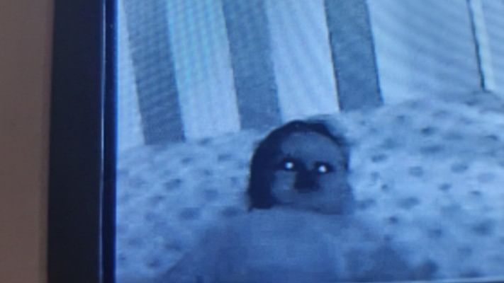 OMG: This Twitter user is really regretting buying a baby monitor after seeing this!