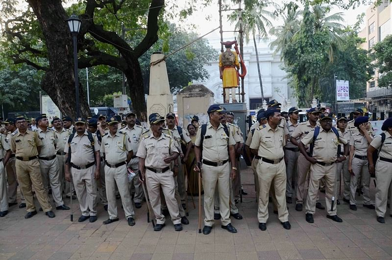 2,000 cops to guard Shivaji Park for Uddhav Thackeray's oath ceremony