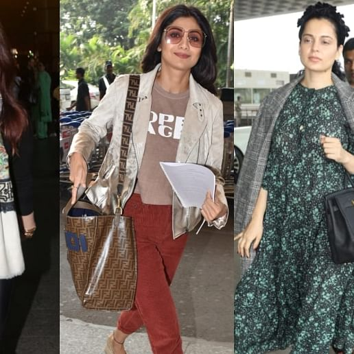 Airport Diaries: Kangana Ranaut, Shilpa Shetty, and other celebs travel in style