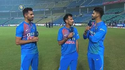 'Shameless': Deepak Chahar gets a mouthful from Chahal for breaking his record