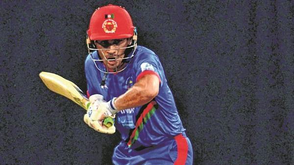 Opener Rahmanullah Gurbaz slammed a strokeful 52-ball 79